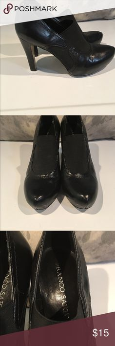 Beautiful Enzo Angiolini 3.5 heels size 7.5 These are great!!! Gently well loved pair of shoes.  We are cleaning out closets and have many designer items that need to find a new home. Priced to sell.  Bundle bundle bundle!!! Enzo Angiolini Shoes Heels