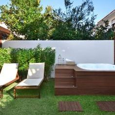 Rustic gardens of Stefani Arquitetura - Beautiful For Decoration