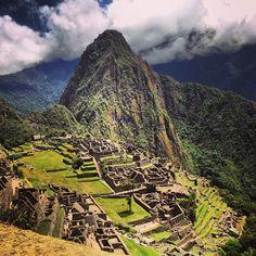 Machu Picchu in Machu Picchu, Cusco http://www.alkitours.com/tourdetails/1721.html