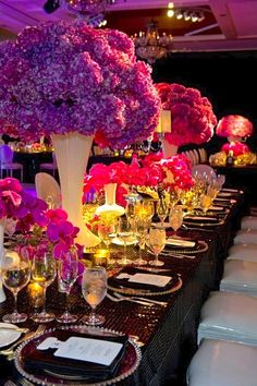 Colorful | Glam | Wedding Table Setting