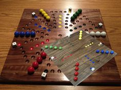 Special Deluxe Walnut Six / Four Aggravation by woodcraftstore