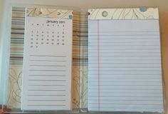 Stamp N Scrap with Cheryl: DVD Case Notepad and Calendar Holder