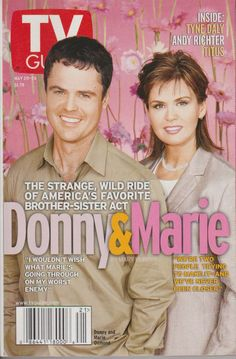 ..I loved watching Donny & Marie.Please check out my website thanks. www.photopix.co.nz