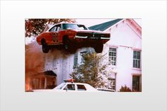 Classic General Lee...back when the stuntmen actually did the jumps.