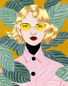 Portrait by Bijou Karman