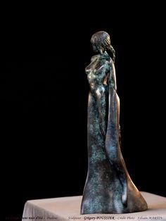 Sculpture de Grégory Poussier de la série Le Songe d'une nuit d'été. Bronze, Shakespeare, Sculptures, Night, Sculpture