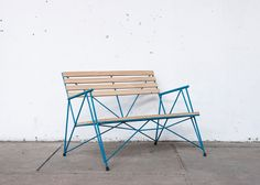 Polígono reinforcing steel furniture by Losgogo
