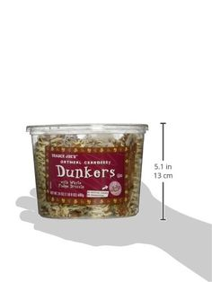 Trader Joes Oatmeal Cranberry Dunkers with White Fudge Drizzle >>> Learn more by visiting the image link. (This is an affiliate link) #Cereals