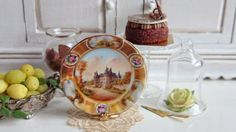 Sêvres Châteaux de France Dollhouse Plate by Twelvetimesmoreteeny