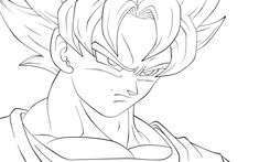 Goku Coloring Pages | Coloring Pages To Print