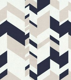 Home Decor Print Fabric- Nate Berkus Forde Paramount Moonstone. possible accent fabric in the living room.