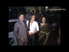 sonakshi sinha with family at LOOTERA's success party.