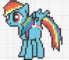 sandylandya@outlook.es  MLP Rainbow Dash pattern by Sailor-Phantom on deviantart