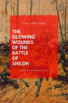 The Battle of Shiloh was a major Civil War battle that occurred on April 6 and 7 of 1862 in Hardin County, Tennessee. The battle occurred when Confederate soldiers led by General Albert Sidney Battle Of Shiloh, Civil War Photos, American Civil War, Glow, History, Red Dragon, Saga, Medicine, America Civil War