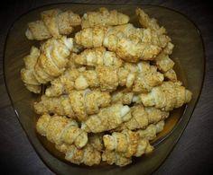 Rezept Mini-Käsehörnchen Suchtfaktor (!) von krustinja - Rezept der Kategorie Backen herzhaft