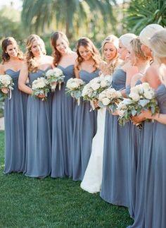 Bridesmaids colours