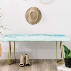 East Urban Home Wonder Forest Faux Leather bench Storage Bench With Cushion, Bench With Shoe Storage, Upholstered Storage Bench, Leather Bench, Accent Furniture, Home Decor Accessories, Upholstery, Room Decor, Allium