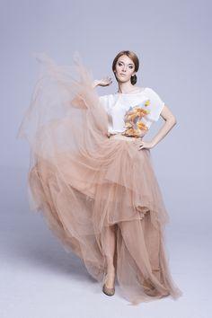 Fashion Makeup & Hair Siadlak Style PHOTO: Helena Siadlak  MAKEUP ARTIST & HAIR: AE Siadlak  MODEL:Kasia Tkaczyk    Jedwabne impresje: Siadlak Style  Tiulowe spódnice: Atelier Sylwia Kopczyńska
