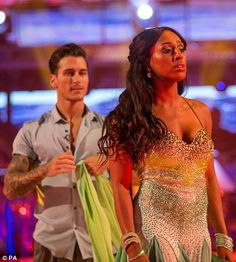 As host Claudia Winkleman reminded the married father-of-two that his wife was in the audience, the EastEnders actor quipped that it was 'a bit awkward'. Stricly Come Dancing, Strictly Come Dancing Live, Gorka Marquez, Claudia Winkleman, Kicks, Sari, The Incredibles, Dance, Actors