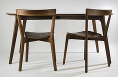 Juniper Design | Products | Cross Chair and Edge Table