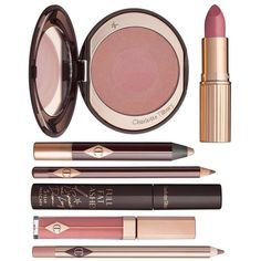 Charlotte Tilbury The Ingénue Gift Set ($225) ❤ liked on Polyvore featuring beauty products, gift sets & kits, beauty, makeup and filler