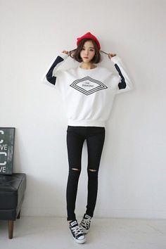 cool korean fashion                                                                  ... by http://www.redfashiontrends.us/korean-fashion/korean-fashion-2/