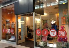 op-up shops and pop-up retail are temporary retail spaces that sell merchandise of any kind. That's