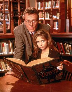 Rupert Giles: the best father there ever was in genre TV.