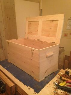 Pine Chest by redwood-copy