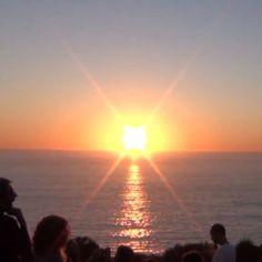 """Puesta de Sol en """"O Morrazo"""" #Galicia 2011"""