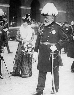 King Edward VII and Queen Alexandra (1908)