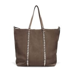 SHOPPER WITH STUDDED STRAPS - Handbags - Woman - ZARA United States