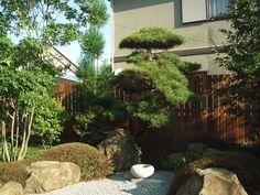栃木県佐野市 造園 「既存樹木を活かした和風の庭」(有)田熊造園土木