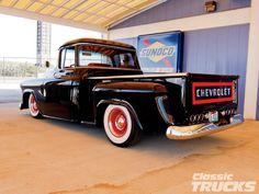 Vintage trucks | 1957 Chevy 3100 Stepside Classic Trucks Magazine