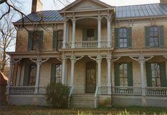 Grassmere mansion, Nashville Zoo, Front view