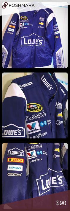 Jimmie Johnson Nascar jacket Like new, medium Chase Authentics Jackets & Coats Bomber & Varsity