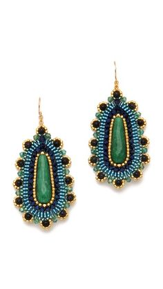 Click Image Above To Purchase: Miguel Ases Jade Drop Earrings Seed Bead Earrings, Beaded Earrings, Earrings Handmade, Handmade Jewelry, Beaded Jewellery, Jade Jewelry, Jewelry Accessories, Jade Beads, Wire Wrapped Jewelry