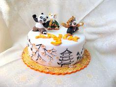 Torta di Kung Fu Panda in pasta di zucchero n.23