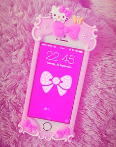 Pink iPhone .... Love this gorgeous case of mine for my iPhone 5s