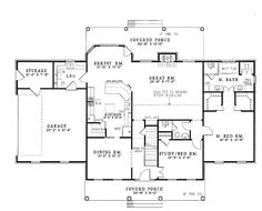 ***I would change the laundry room.  Other than that this is my dream floor plan.