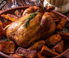 Ropogós sült csirke édesburgonyával Recept képpel - Mindmegette.hu - Receptek