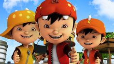 """"""" Yeah awesome """" is the catchphrase of BoBoiBoy , a series released by Animonsta Studios and currently airing on Disney Chan. Disney English, Youtube English, Boboiboy Anime, Boboiboy Galaxy, Favorite Subject, How To Grow Taller, Cartoon Shows, Episode 5, Young Boys"""