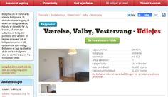 Nyrenoveret værelse med lækre faciliteter udlejes i Valby - få minutter fra Damhussøen! Sagsnr. 397076 #værelse #boligdeal #valby #deldinby #københavn #boligønsker #ig #udlejes #lækker #værelsemedudsigt #studerende #ku #cbs #ruc #aau #ditnyehjem #danskeejendomsmedier