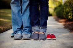 Kreative Idee zum Ankündigen das man Schwanger ist. Noch mehr Ideen gibt es auf www.Spaaz.de