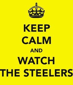 Steelers @Katie Givens- look what you've begun