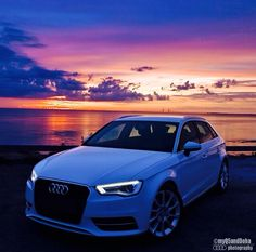 The view of this #AudiA3 is fantastic. @myq5anddoha  @mariorod757