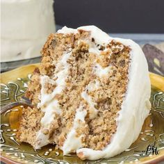 Old Fashioned Banana Layer Cake recipe with Cream Cheese Frosting a classic banana layer cake recipe made in simple style like Grandma used to bake.