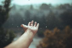 Raindrops falling - Moment caught with my canon 6d and sigma 35mm 1.4 art lens