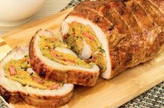Receita fácil de lombo recheado para o Natal! Estamos a poucos dias do Natal e nessa época do ano alguns pratos culinários são escolhidos para fazer parte