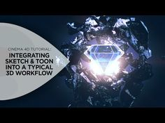 Integrating Sketch & Toon into a Typical 3D Workflow in Cinema 4D - YouTube